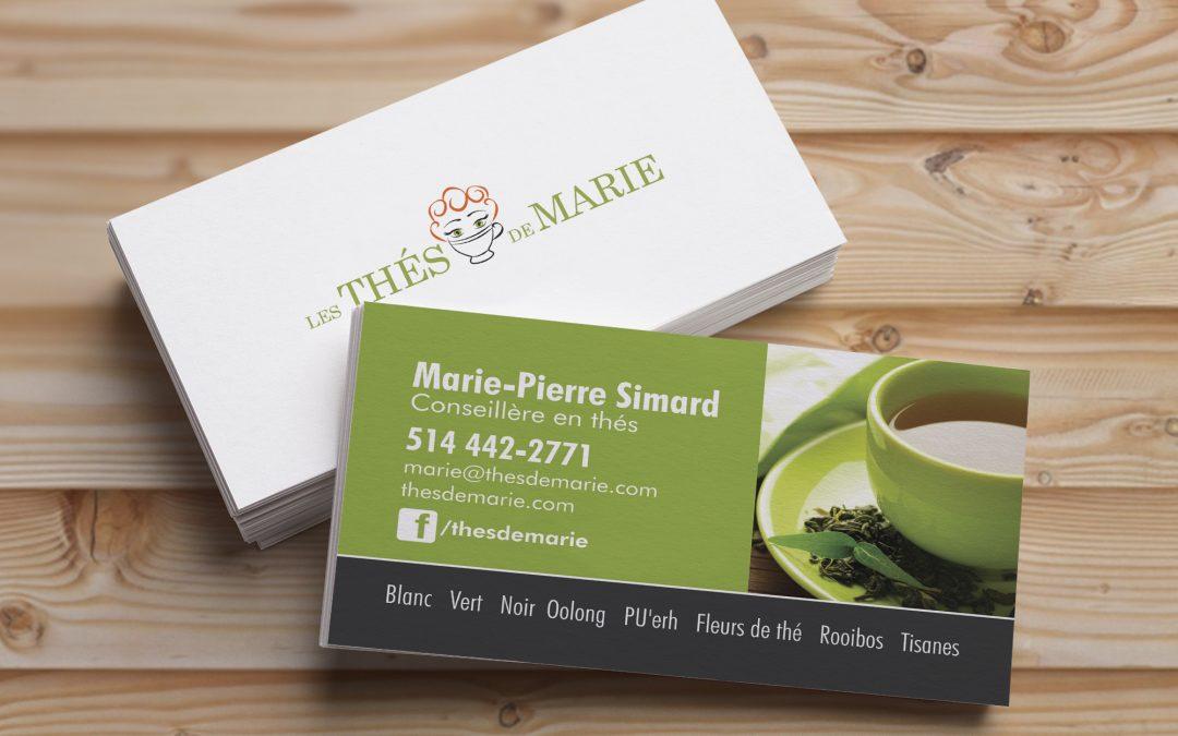 Carte Thés de Marie