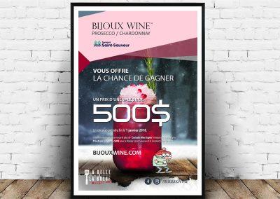 Poster Bijoux Wine