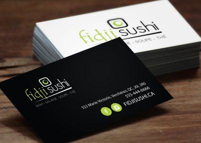 Carte Fidji Sushi