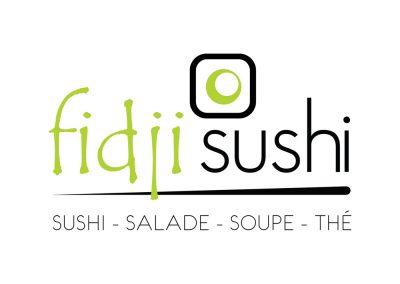 Logo & corpo Fidji Sushi