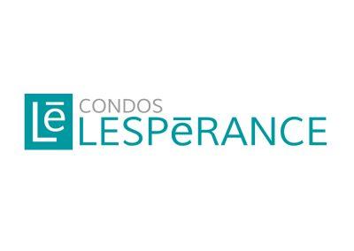 Logo & corpo Condos Lespérance