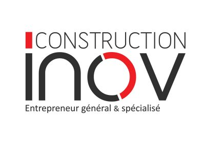 Logo & corpo Construction Inov