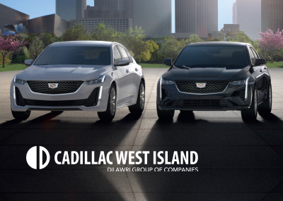 Cadillac West Island Move up ct4-ct5