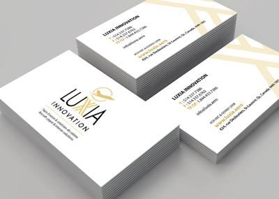 Carte Luxia blanche