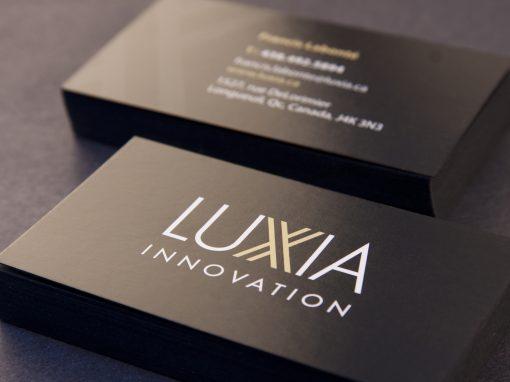 Carte Luxia noir