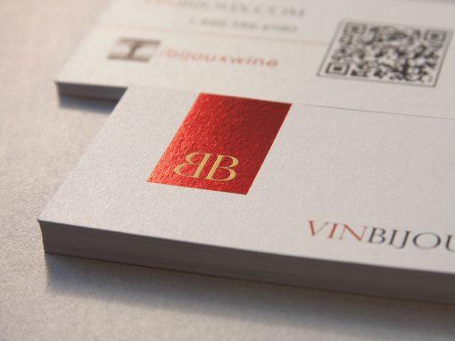Carte Bijoux Wine