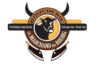 Logo & corpo Le Marchand du Bourg