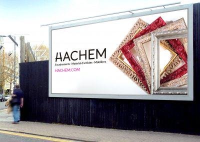 Affichage grand format Hachem 2