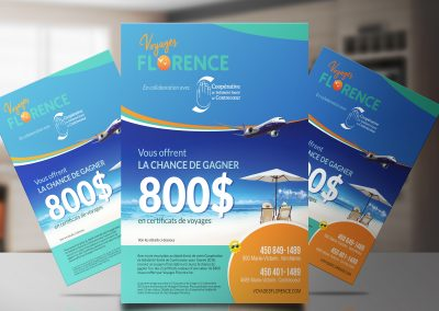 Affiche concours Voyages Florence