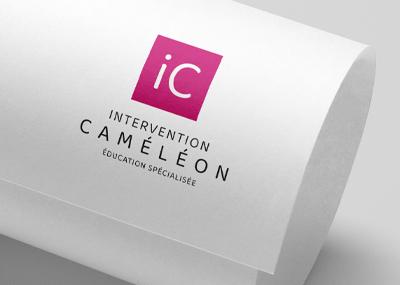 Logo Intervention Caméléon 2021